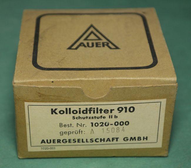 Фильтр тонкой очистки воздуха MSA Auer, Germany, фотография 3
