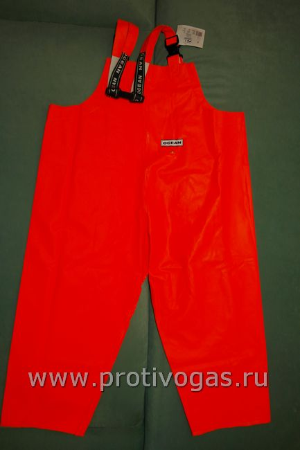 Полукомбинезон - буксы от профессионального костюма рыбака ОКЕАН (Дания) - ПВХ на тканевой основе, фотография 2