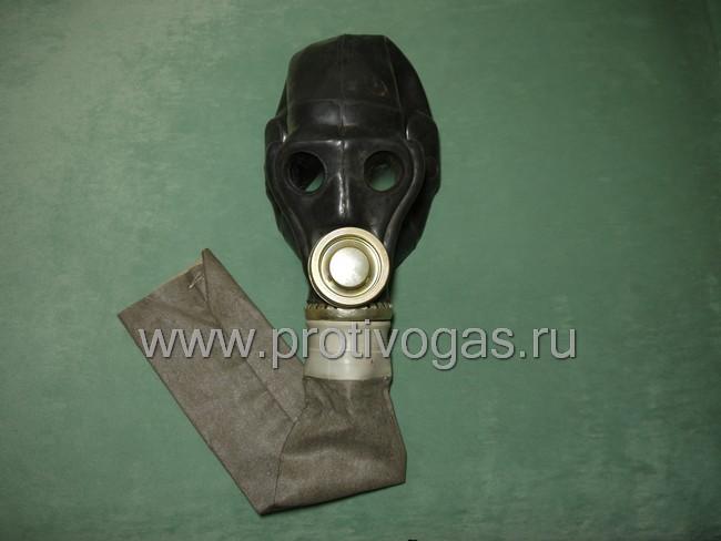 Чехол на шланг прорезиненный, для дополнительной защиты от гептила и механических повреждений, для противогаза ПРВУ, фотография 2