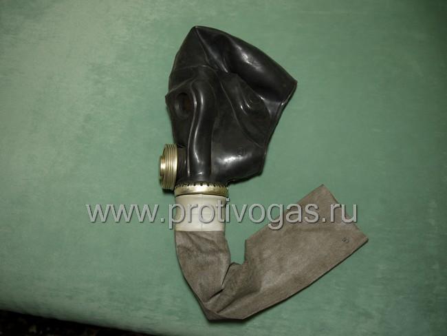 Чехол на шланг прорезиненный, для дополнительной защиты от гептила и механических повреждений, для противогаза ПРВУ, фотография 3