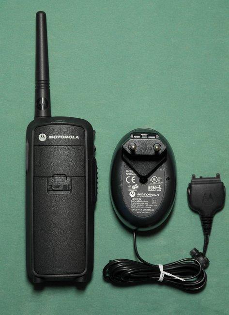 Motorola DTR-2430 цифровая портативная рация на дальность 2 км, фотография 2