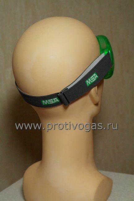 Защитные очки MSA AUER закрытой конструкции с небьющимися поликарбонатными линзами, фотография 3