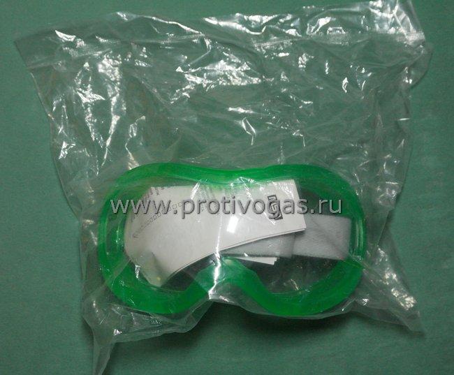 Очки защитные MSA AUER противохимически и противогазовые, а также для защиты от механических воздействий (Болгарка, сверление металла, обточка камня и т.п.), фотография 4