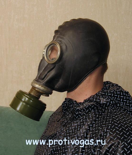 Шлем-маска ШМП (противогаз ГП-5 / ГП5), фотография 1