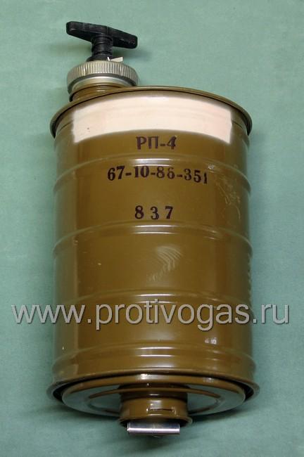 Изолирующий противогаз ИП-4 с серой маской, фотография 5