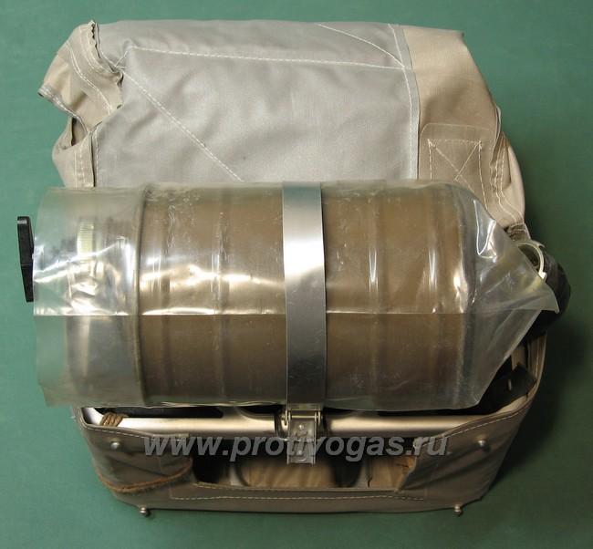 Изолирующий противогаз ИП-4 с серой маской, фотография 6