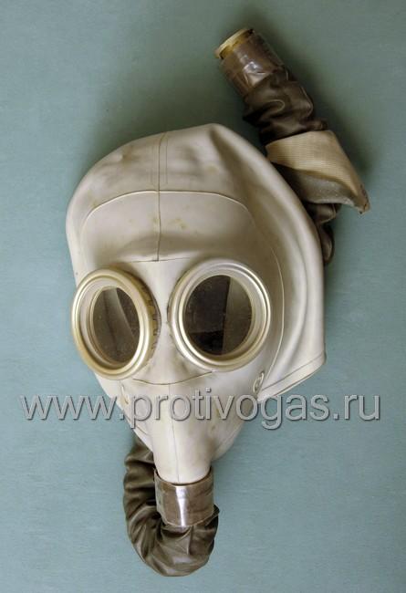 Изолирующий противогаз ИП-4 с серой маской, фотография 1
