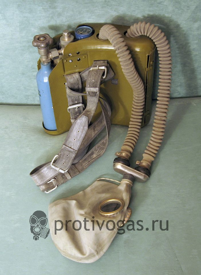 Кислородный изолирующий противогаз КИП-5, фотография 2