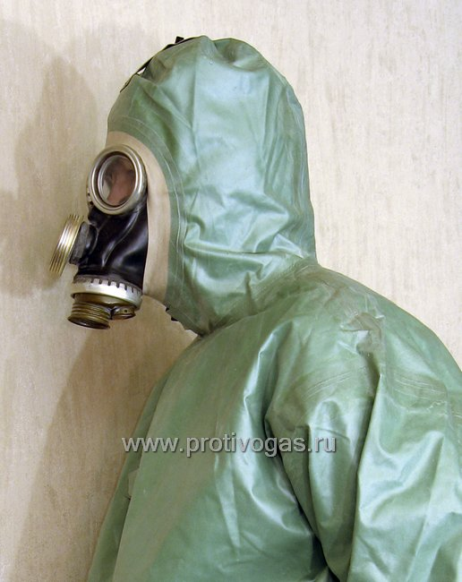 Костюм химзащитный изолирующий КЗИ-2 (аналог легкого защитного костюма Л-1), фотография 7