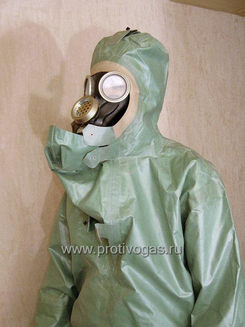 Костюм химзащитный изолирующий КЗИ-2 (аналог легкого защитного костюма Л-1), фотография 9