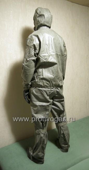 Костюм химзащитный Л-1, ткань Т-15 и УНКЛ-3, фотография 4