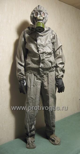 Костюм химзащитный, производства ГДР, аналог Л-1, фотография 1