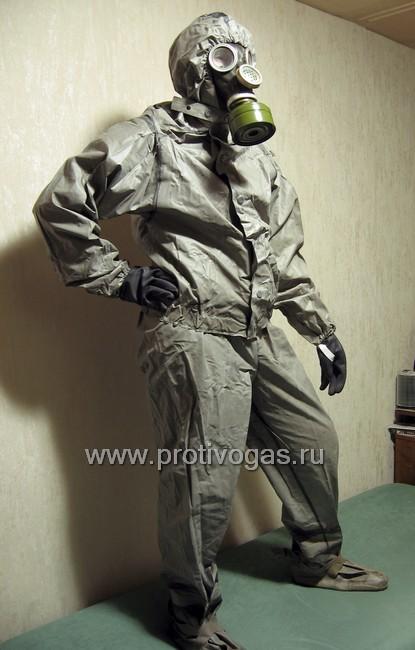 Костюм химзащитный, производства ГДР, аналог Л-1, фотография 4