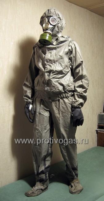 Костюм химзащитный, производства ГДР, аналог Л-1, фотография 5