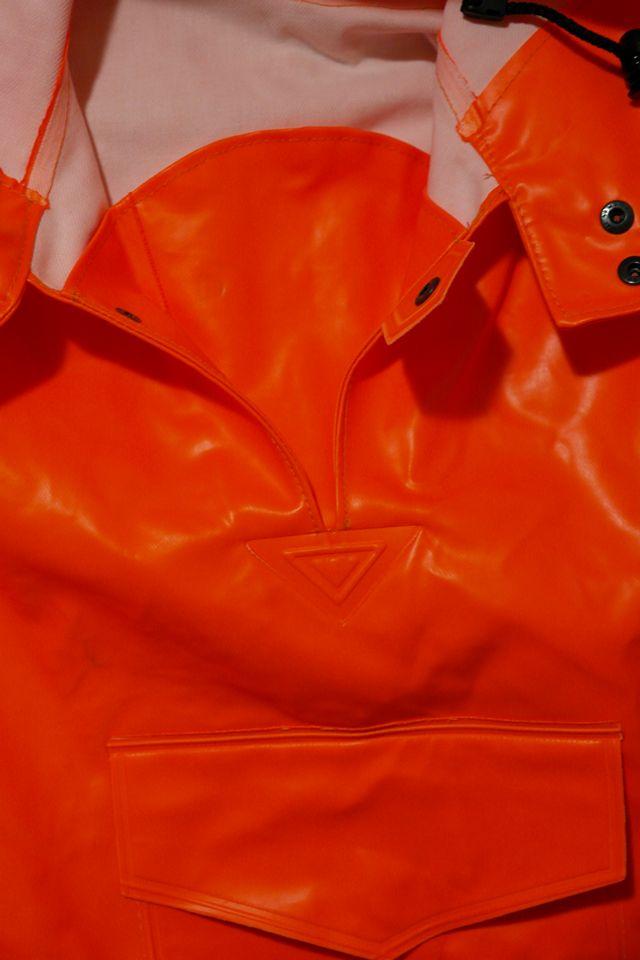 Анорак костюма Рокон - букса Ocean, подробные фотографии устройства горловины капюшона и штормовой застежки куртки, фотография 10