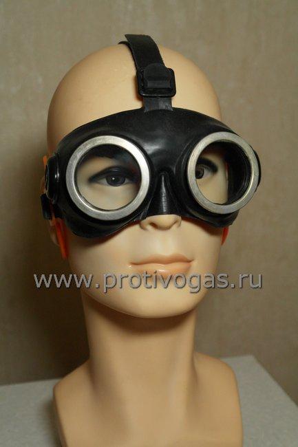 Очки химзащитные ОПФ закрытой конструкции защитные, фотография 1