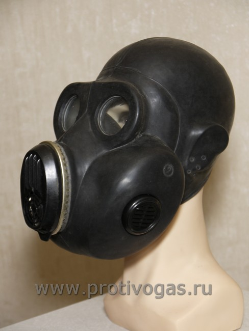 Противогаз Хомяк (ЕО-19) черного цвета, фотография 1
