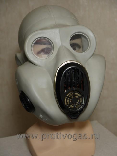 Противогаз ПБФ Хомяк ЕО-19 белый (серый), фотография 2