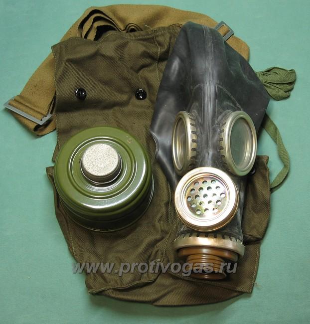 Шлем-маска ШМ66у черная. Противогаз военный ПМГ-2 черный, фотография 2