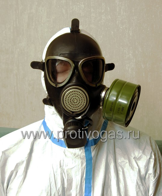 Противогаз ПМК-1 (шлем-маска МБ-80), фотография 4