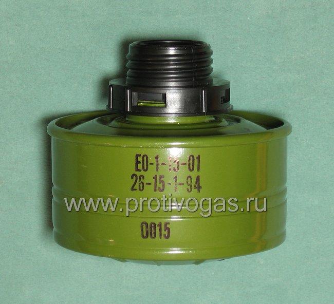 Резьбовой адаптер для фильтров к противогазам ПМК-2, ПМК-3 (фильтр на защелках), фотография 1