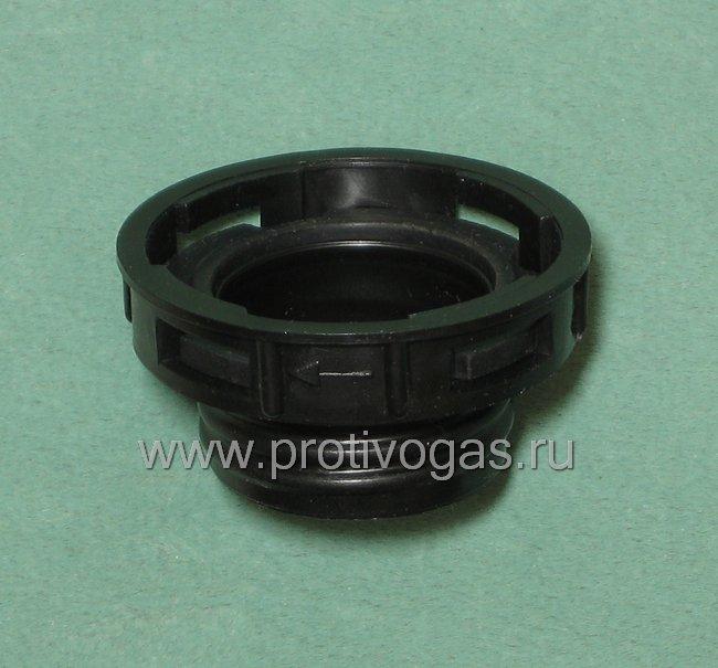 Резьбовой адаптер для фильтров к противогазам ПМК-2, ПМК-3 (фильтр на защелках), фотография 2
