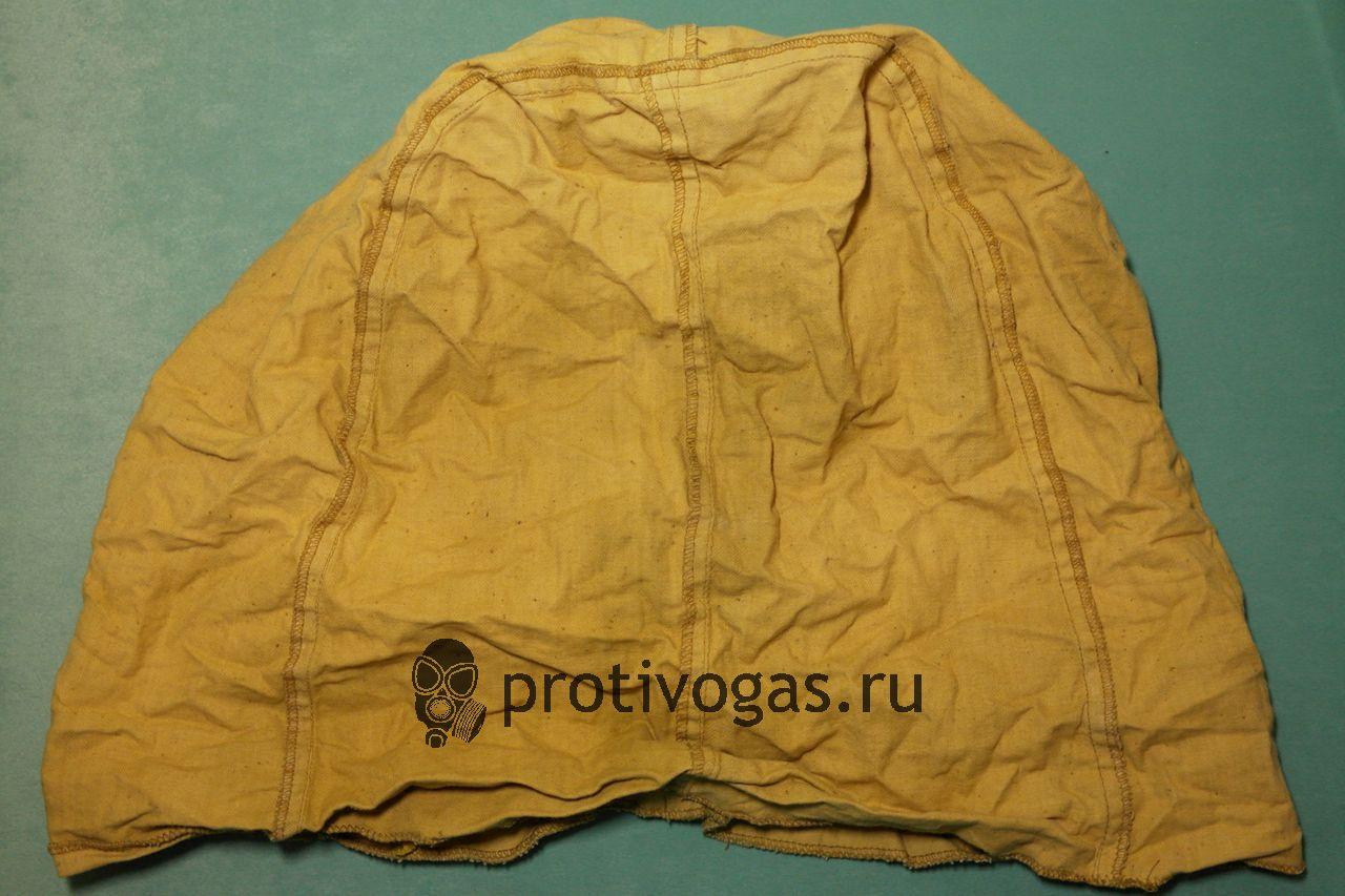 Защитный огнестойкий капюшон с химзащитной порпиткой для противогазов типа ПМК (ПМК-1, ПМК-2, ПМК-3) , фотография 3