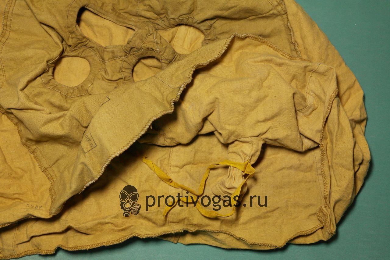 Капюшон из комплекта защитной одежды КЗО-Т на портивогаз ПМК (ПМК-3, ПМК1, ПМК-2) противохимический и огнестойкий, фотография 4