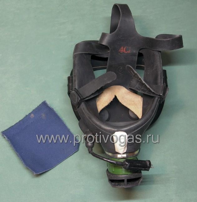 Противогаз ПФЛ с панорамной маской армейский, фотография 3