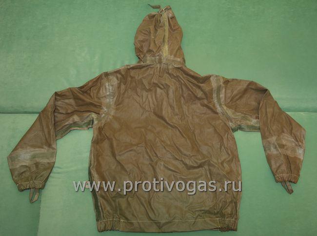 Куртка прорезиненная химзащитная для костюма химзащиты промышленного, фотография 2