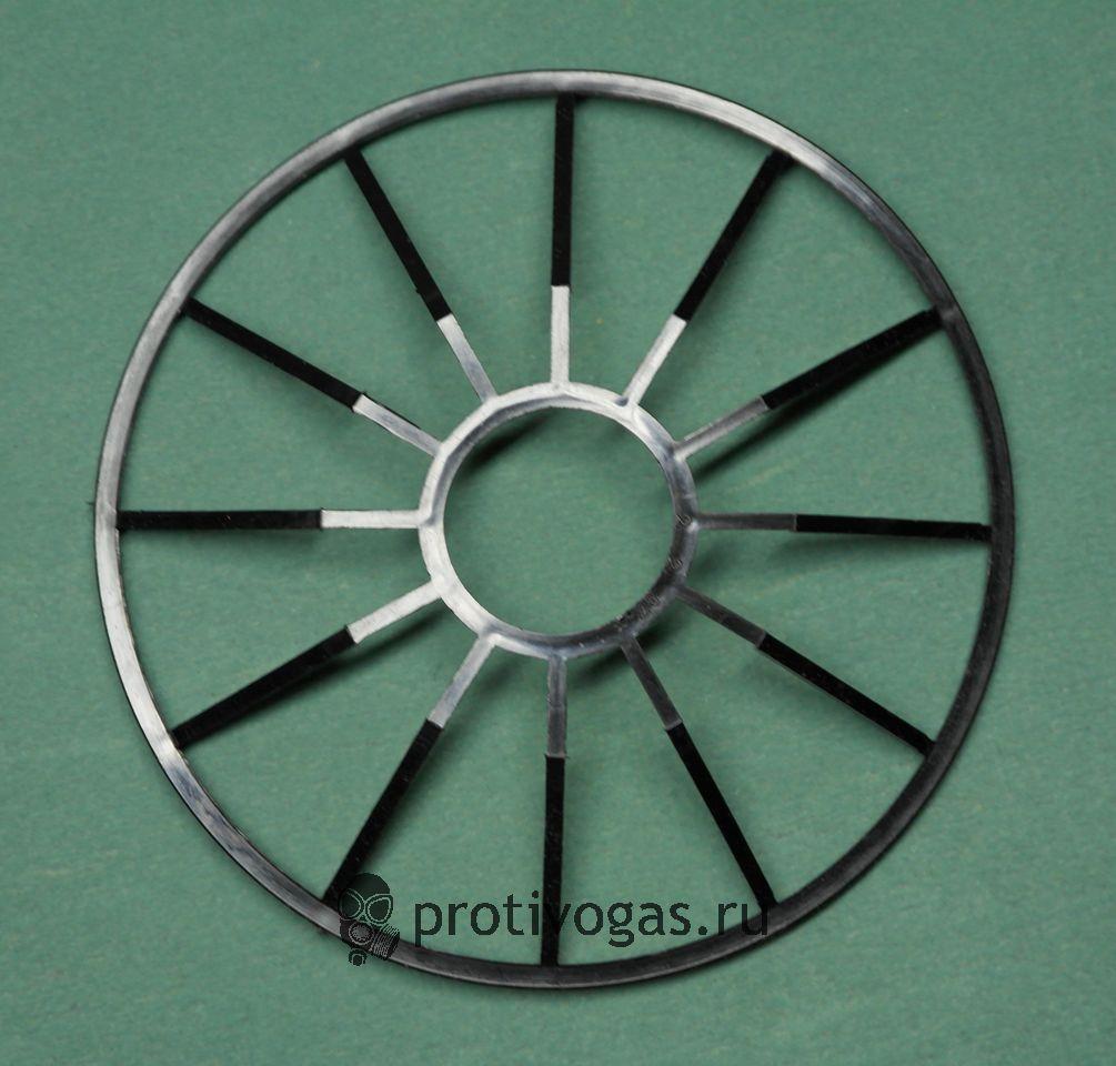 Каркас жесткости под фильтр противогазов ПМК, подкладывается под дно фильтра, скерху натягивается чехол, фотография 2