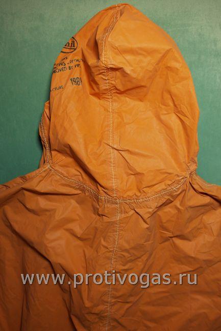 Защитный спасательный костюм для эвакуации экипажа судов перевозящих опасные химические грузы, фотография 6
