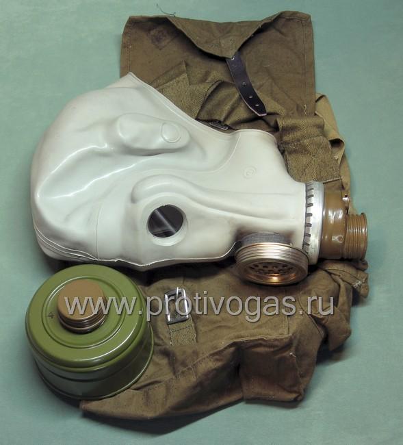 Шлем-маска ШМС серая (противогаз РШ-4), фотография 5