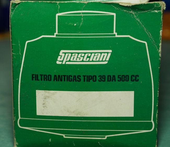 Фильтр противогазный SPASCIAN VF (Италия). Защита от угарного газа СО, фотография 4