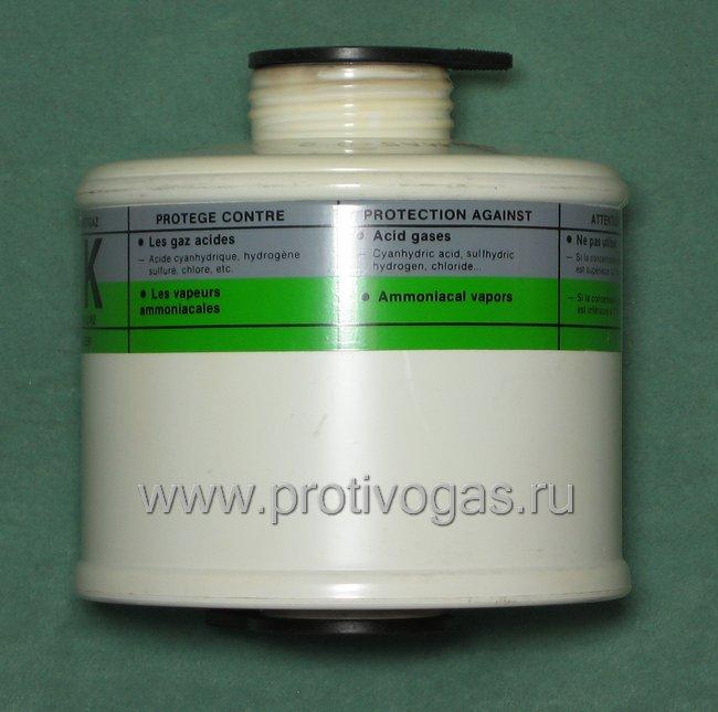 Фильтр противогазный Spirofilt BK, производство Fenzy (Франция), фотография 2