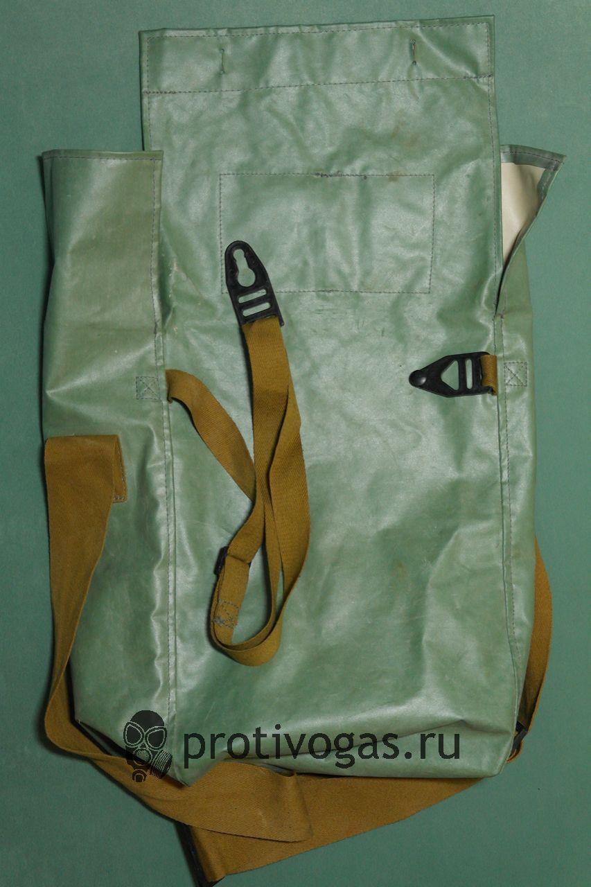Сумка для изолирующих портивогазов ИП-46, ИП-5 из ткани БЦК, зеленого цвета, фотография 2