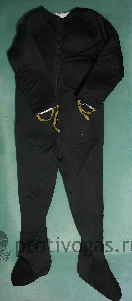 Утеплитель для водолазных гидрокостюмов, УГК. Теплый комбинезон, шлем, фотография 1