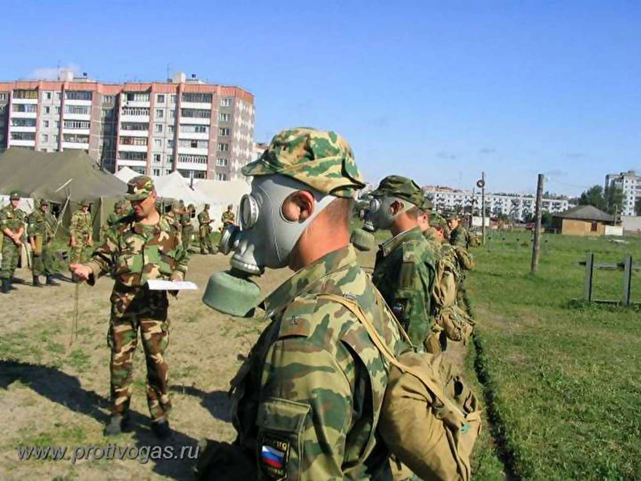 Противогаз военный ПМГ-2