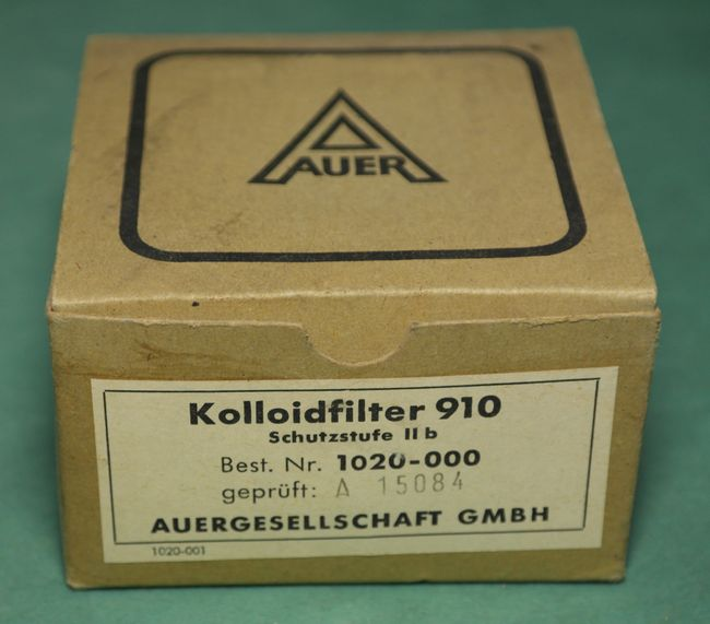 Фильтр противопыльный MSA Auer, Германия, для сверхтонкой очистки воздуха от пыли, тумана, аэрозолей, микробных и вирусных частиц, фотография 3