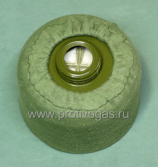 Трикотажный защитный чехол на фильтр противогаза от пыли, грязи и механических повреждений, фотография 3