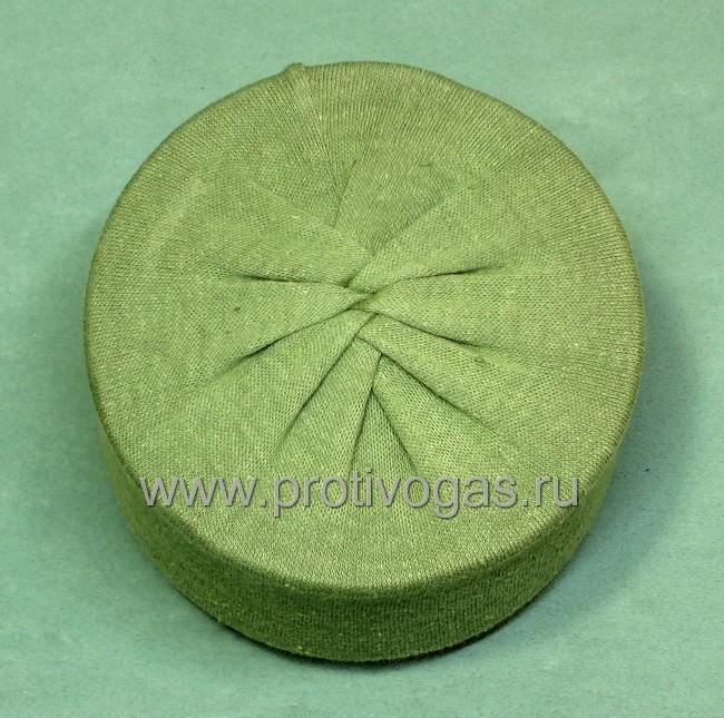 Трикотажный защитный чехол на фильтр противогаза от пыли, грязи и механических повреждений, фотография 5