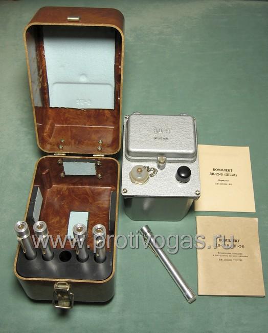 Дозиметр ДП-24 - комплект индивидуальных дозиметрических трубок, 5 штук, фотография 1