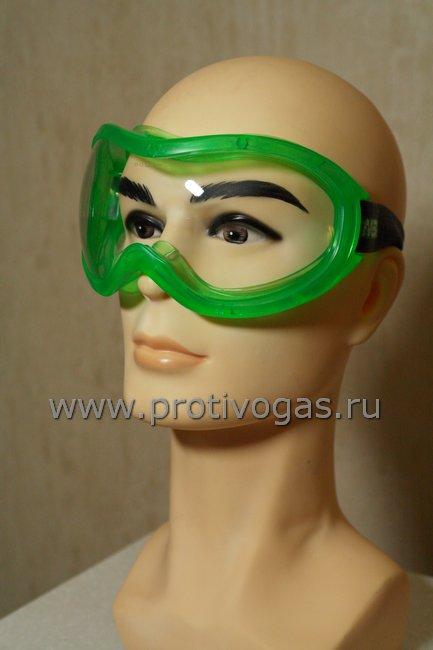 Очки MSA AUER закрытого типа защитные с поликарбонатной линзой, фотография 1