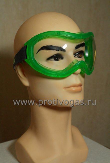 Очки MSA AUER небьющиеся защитные закрытого типа (пыль, заз, едкие и ядовитые жидкости), фотография 2