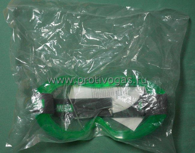 Поликарбонатные защитные очки MSA AUER небьющиеся для работ с агрессивными и ядовитыми, опасными жидкостями, газами, пылью, фотография 5