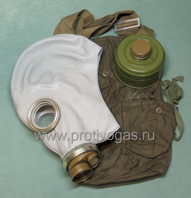 Противогаз ГП-5 серый (ШМП), фотография 1