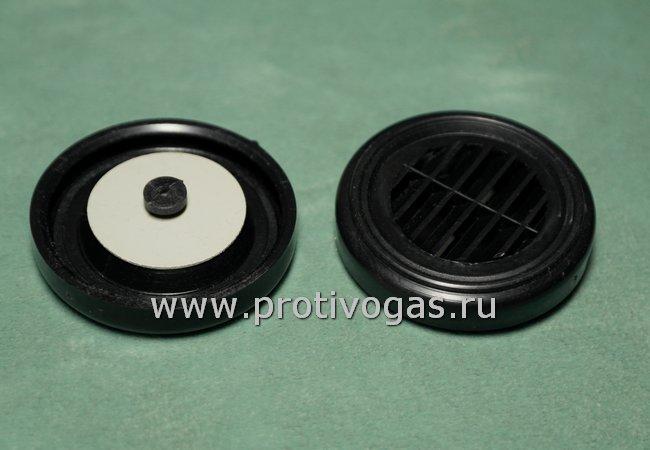 Клапан для щеки (для фильтра) армейского противогаза Хомяк ЕО-19, фотография 1