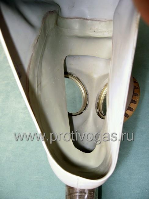Изолирующий противогаз ИП-4 с серой маской, фотография 4