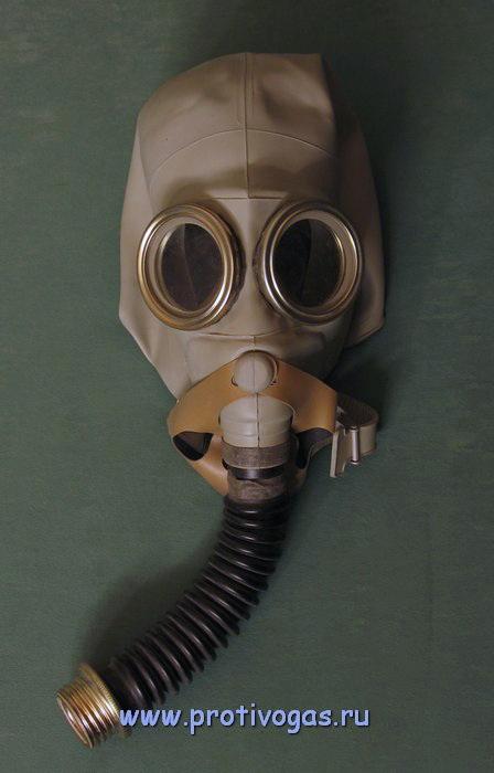 Изолирующий противогаз ИП-5 с возможностью подводной работы, фотография 1