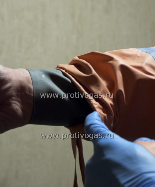Корунд-2 костюм защитный изолирующий. Устройство рукава. Герметичная манжета, фотография 7